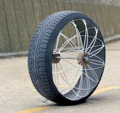 Roadless wheel concept adjusts to all terrains By Brian Dodson November 6, 2013 Compliant Roadless support system inside a tire tread (Photo: Ackeem Ngwenya)