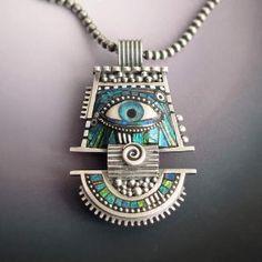 Liz Potter Hall - Protection jewelry? #polymer #clay #jewelry