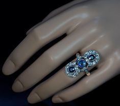 Hey, I found this really awesome Etsy listing at https://www.etsy.com/listing/209213326/antique-victorian-three-stone-sapphire