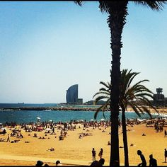 Barcelona beach..would love to go back!