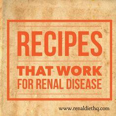 recipes for a kidney safe diet