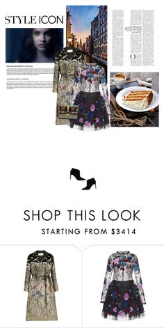 """""""13.10.2016"""" by bliznec-anna ❤ liked on Polyvore featuring Valentino, Zuhair Murad and Gianvito Rossi"""