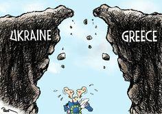 Карикатура политическая.