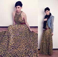 Leopard. (by Nora Lovely) http://lookbook.nu/look/3119775-leopard