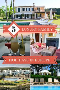 Family travel expert Alison Perry shares her top 5 places for a luxury family holiday