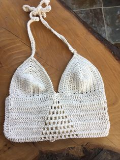 Items similar to crochet Festival fashion boho bikini top cream cotton designer gypsy crochet on Etsy Boho Festival Fashion, Boho Fashion, Festival Mode, Designer, Bikini Tops, Knit Crochet, My Etsy Shop, Knitting, Trending Outfits