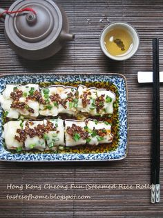 Cheong fun, a dim sum favourite,    great recipes on this site, for the home cook