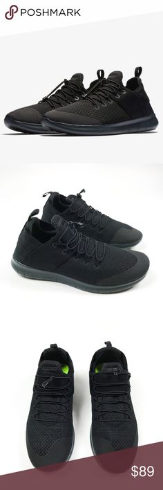 dcd8e2dd02 Description: NIKE FREE RN COMMUTER 2017 - MEN'S Running Shoes Black Gray  Sneakers are brand new (without box)!