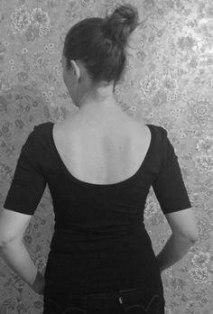 Shirt #nettie #closetcasefiles low back. Lage rug