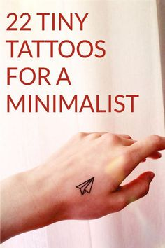 Minimalism and tattoos are the new trends and everyone's going for it. Here are 20 photos of the Coolest Minimalist Tattoos. These ideas are so cute and simple, you will be inspired to get inked. Visit our site if you are a tattoo lover! Tattoos Masculinas, Best Sleeve Tattoos, Girl Tattoos, Tattoos For Guys, Tattoo Sleeves, Delicate Tattoo, Subtle Tattoos, Pretty Tattoos, Minimalist Tattoo Meaning