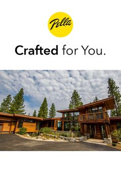 Masterfully modern in design, this Truckee, CA, home showcases a streamlined profile with wonderfully rustic elements. The end result is a family retreat that nestles seamlessly among the sugar pines, white firs and quaking aspen. Pella Windows, Wood Windows, Casement Windows, Windows And Doors, Contemporary Windows, Aluminium Cladding, Firs, Cabin Design, Cabin Homes