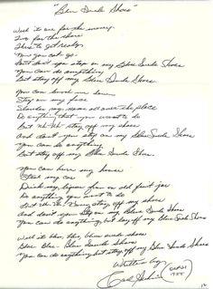 Carl Perkins - Blue Suede Shoes.