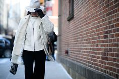 On the Streets of New York Fashion Week Fall 2015 - New York Fashion Week Fall 2015 Street Style Day 4