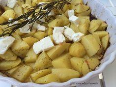 Sommerliche Zitronenkartoffeln mit Feta und Rosmarin