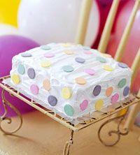 Polka Dot Cake --- Making for daughter's 9th birthday.