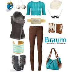 """League of Legends: Classic Braum (feminine)"" by rhosaucey on Polyvore"