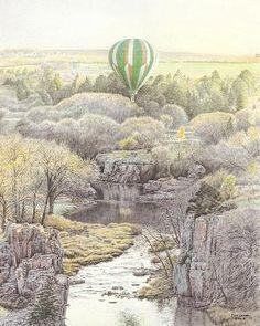 """Beneath the Prairie Sky"" by Jon Crane"