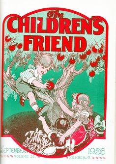 The Whole Year Through: Children's Friend, 1926 - All of the covers from each month!