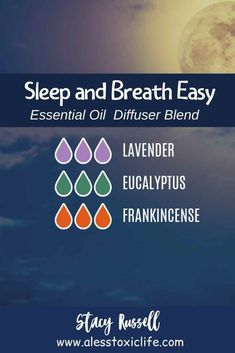 Try this blend of essential oils if you are congested with a stuffy nose before you go to bed. Lavender, eucalyptus, and frankincense are 3 of the top essential oils in… Stuffy Nose Essential Oils, Top Essential Oils, Essential Oils For Sleep, Frankincense Essential Oil, Essential Oil Diffuser Blends, Essential Oils For Sinusitis, Eucalyptus Essential Oil Uses, Aromatherapy Diffuser, Sleeping Essential Oil Blends