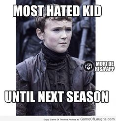 Next season there will be someone worse than him