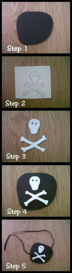 """""""How to make a pirate eyepatch"""""""