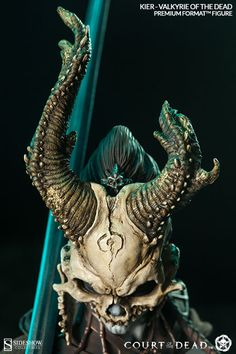 The Valkyrie of the Dead Premium Format™  Figure now available at Sideshow.com for fans of Court of the Dead and fantasy.
