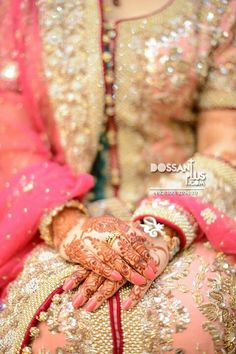 Pakistani bride is incomplete without mehendi