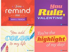 Some Valentines for teachers. Had a blast making these!