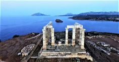 This is the beautiful Temple of Poseidon in Greece.   I'm organizing a trip to Greece in 2018.  Please check it out.