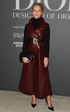 Lottie Moss The celebrity style we love this week - HarpersBAZAARUK Stylish Outfits, Fall Outfits, Fashion Outfits, Women's Fashion, Best Celebrity Dresses, Celebrity Style, Leather Dresses, Fall Looks, Everyday Fashion