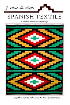 Spanish Textile Quilt Kit - J. Loom Patterns, Textile Patterns, Beading Patterns, Quilt Patterns, Patchwork Patterns, Star Quilts, Rag Quilt, Easy Quilts, Quilt Sets