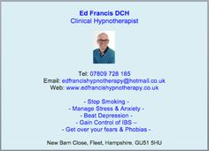 Ed Francis Hypnotherapist