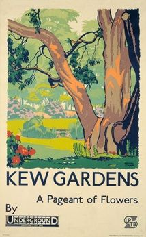 Thirty beautiful colour reproductions of London Transport Kew Gardens posters bound in a handy postcard collection. Kew Gardens London, London Transport Museum, Public Transport, British Travel, Travel Ad, Travel Photos, Nostalgia, Railway Posters, Vintage London