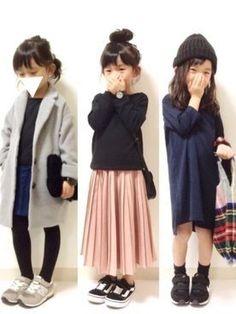 trendy fashion kids dress skirts - My favorite children's fashion list Little Girl Fashion, Toddler Fashion, Toddler Outfits, Kids Fashion, Look Fashion, Trendy Fashion, Dress Fashion, Baby Dress Clothes, Outfits Niños