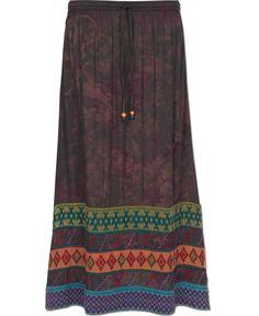 Tie-Dye Hippie Skirt: Soul Flower Clothing