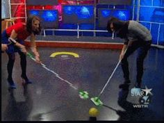 Newsroom Olympics: Curling