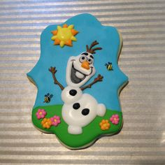 1000 images about frozen olaf cookies cakes and ideas