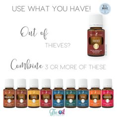 If you run out of Thieves and you are in a pinch. Try using what you have! More ideas here: http://www.theoildropper.com/use-oils-you-have/