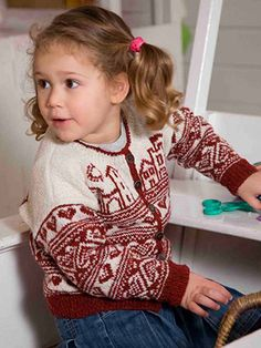 Bo from Aran & Nordic Knits for Kids by Martin Storey contains 25 designs for babies and young children. This Scandinavian inspired collection of designs has a range of delightful projects which include both traditional patterns and some with a contemporary twist. | English Yarns