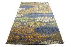 5×8 Modern Wool Silk One Of a Kind Handmade Rug 2839