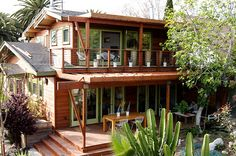 amazing bungalow addition Craftsman - South West - After by Jeremy Levine Design, via Flickr