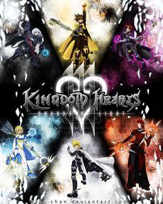 Kingdom hearts III omg i don't think i've even seen 2 yet or i did i don't know but i'm going to love it!