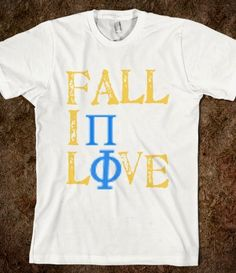 Fall in love with Pi Phi! This is so cute!