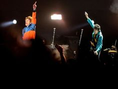 The Rolling Stones at Desert Trip Festival on the massive stage at the Empire Polo Club in Indio, California - 07.10.2016