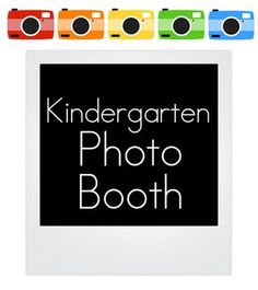Great idea for end of year in Kindergarten.  I think the kids (and teachers) could have some fun with this!
