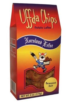 Uffda Chips - Made From Real Lefse By Norsland Lefse (Cin...