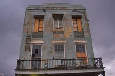 """""""Ernest Bellocq House (1856), later Norma Wallace brothel, now apartment house at 1026 Conti Street near North Rampart Street in French Quarter. New Orleans, Louisiana, July 5, 2006"""""""