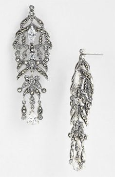 Judith Jack Glamour Chandelier Earrings Available At Nordstrom Marcasite Jewelry Filigree