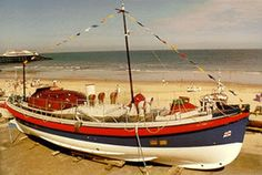 Cromer Watson class lifeboat H F Bailey. Now at the RNLI Henry Blogg Museum in Cromer