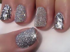 #Sparkle & Shine Nail art